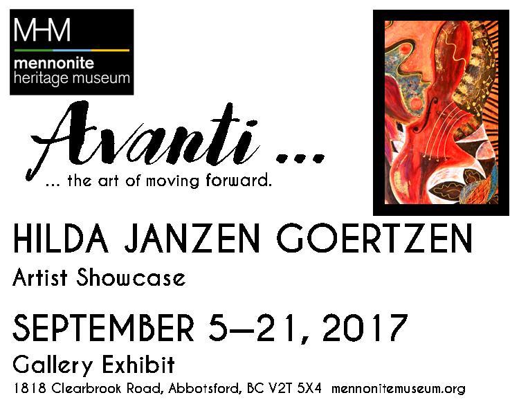 Avanti Gallery Exhibit Postcard