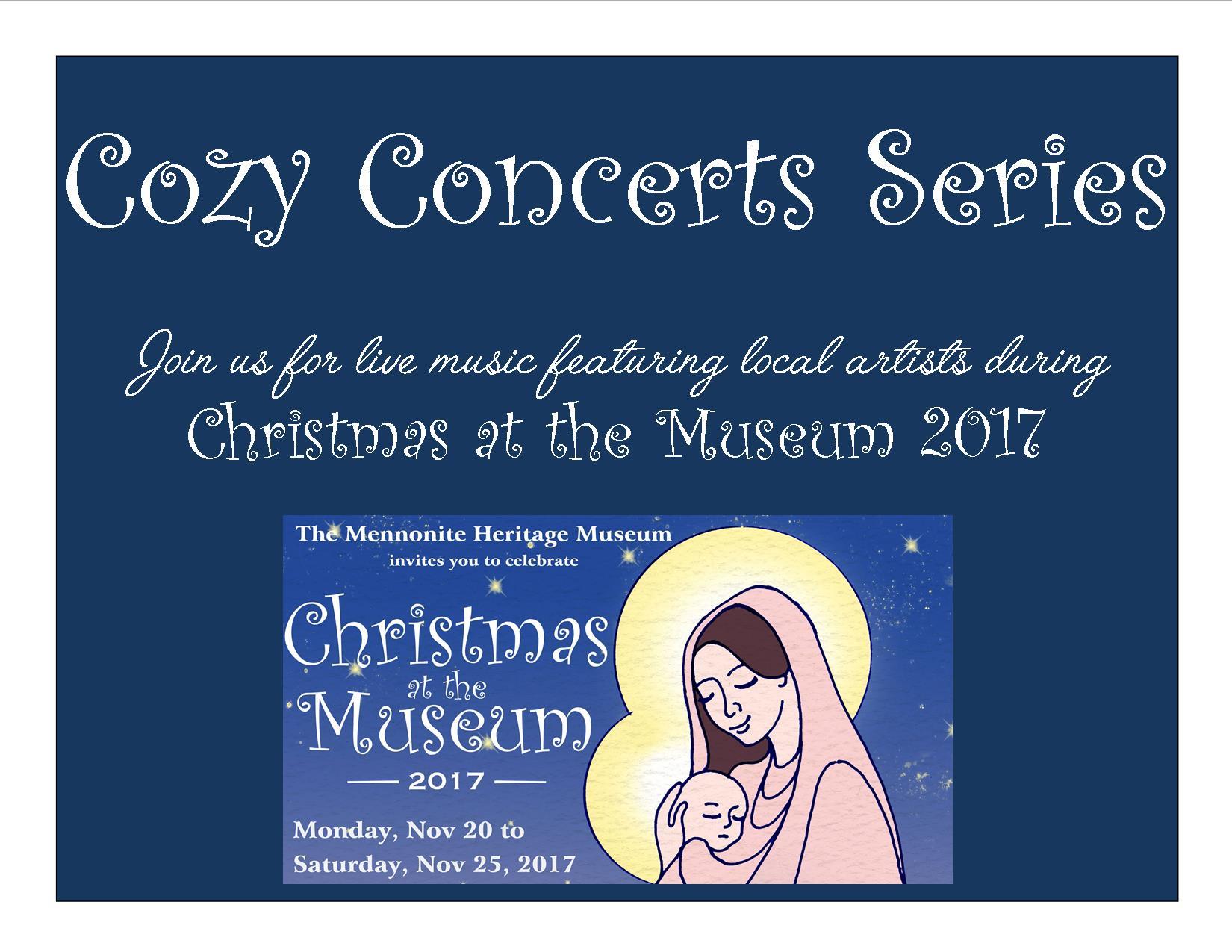 Cozy Concert Series