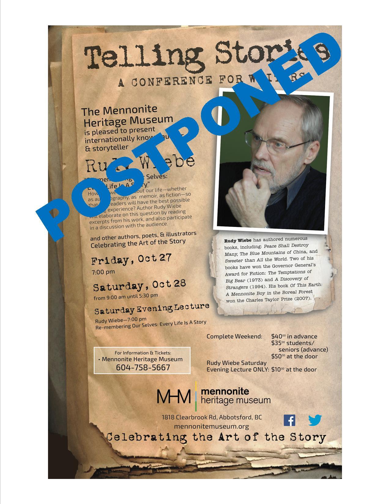 Postponed Telling Stories
