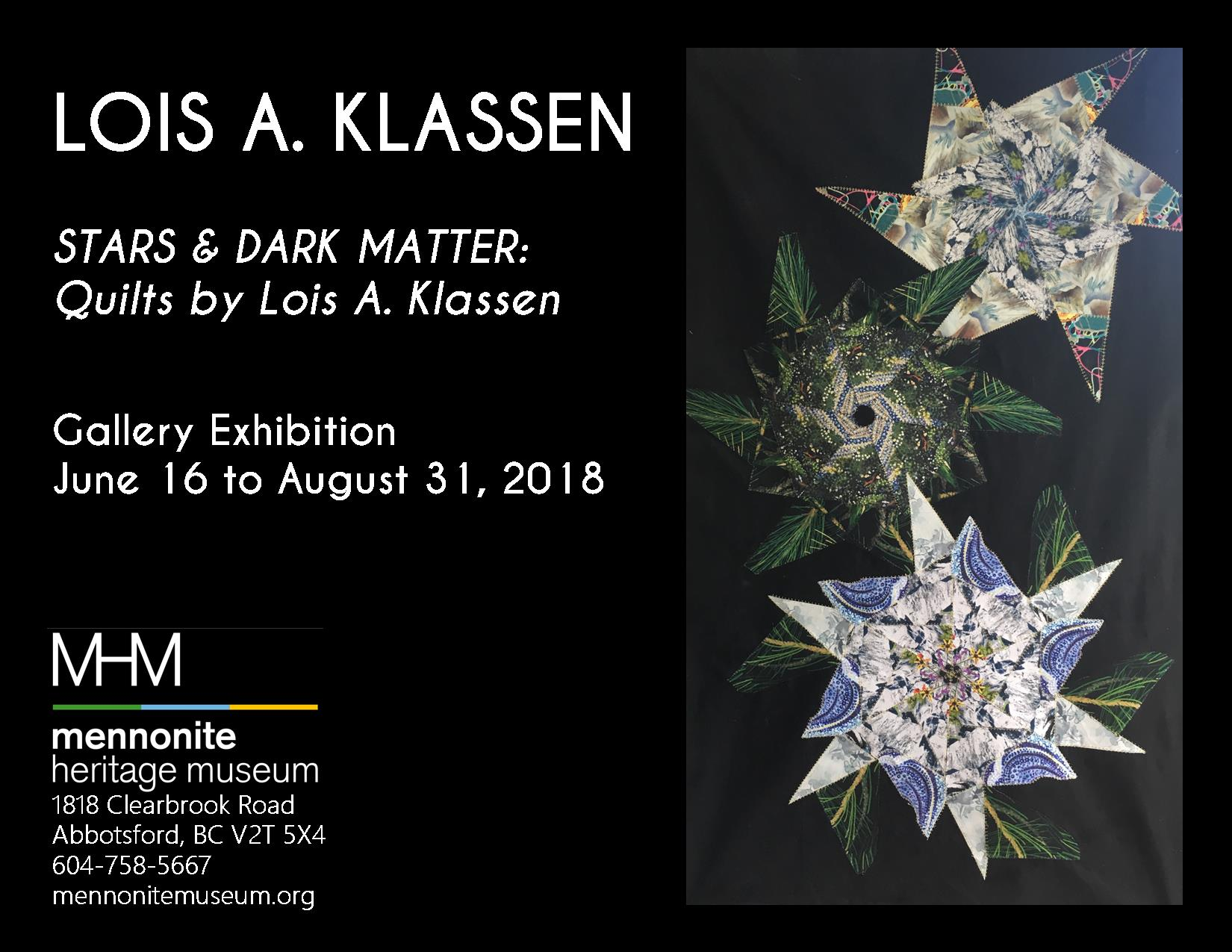 Lois Klassen Gallery Exhibition Poster