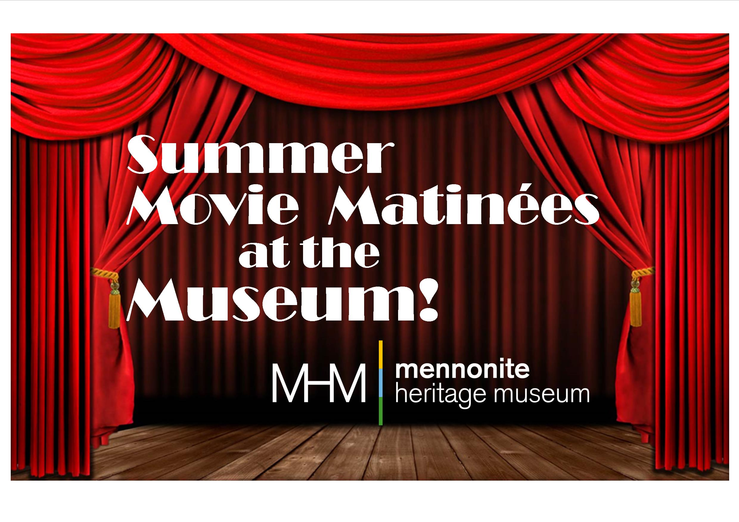 Summer Movie Matinees at the Museum Title Page