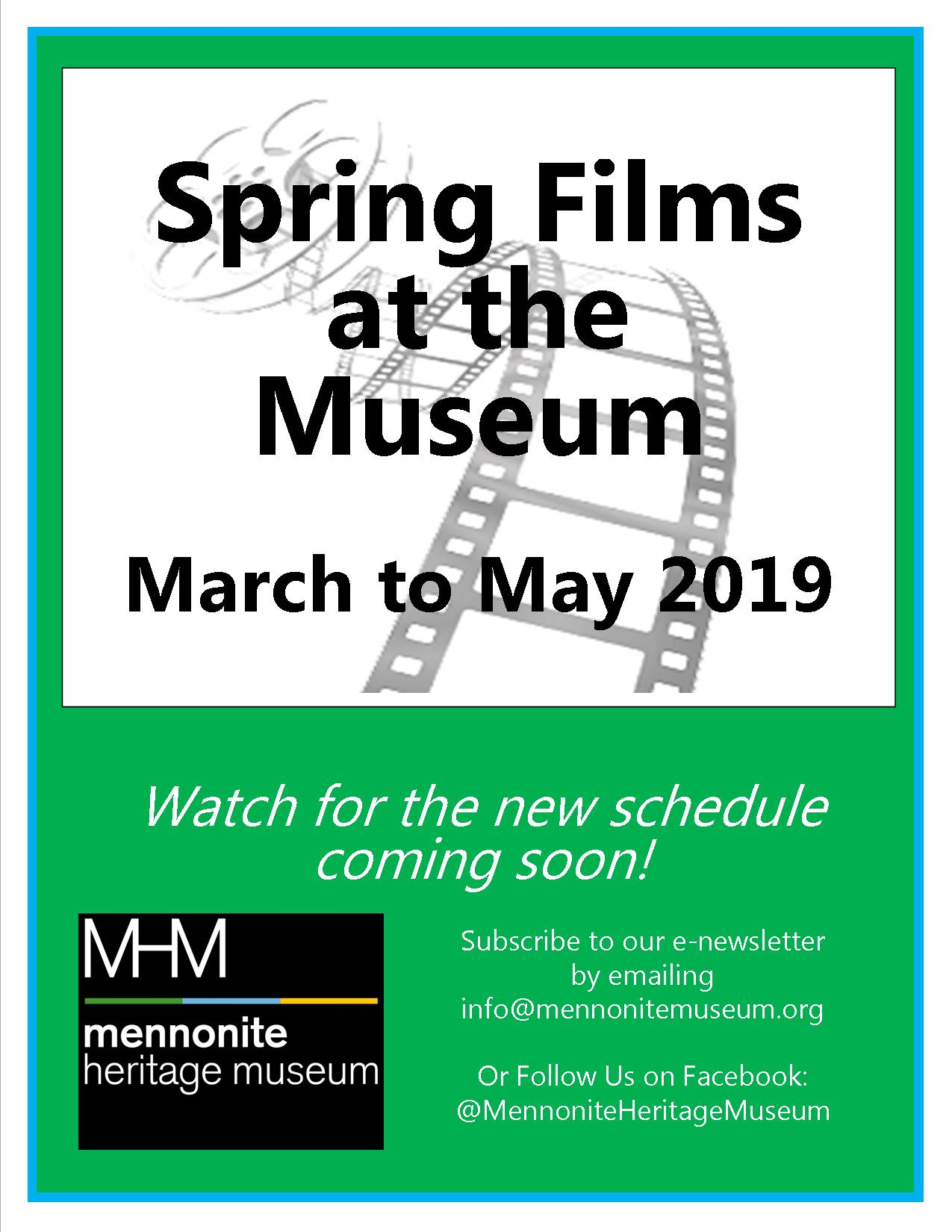 Spring Films at the Museum